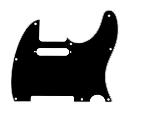 Fender Telecaster Pickguard 3 Kat Siyah (3-Ply Bk-WHT-Bk)
