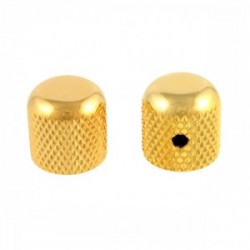 Fender Telecaster Vintage Dome Gold Potans Düğmesi( Knobs) 2'li - Thumbnail