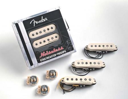 Fender Vint. Noiseless Strat Pickups Set WHT