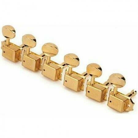 Fender - Fender Vintage Style Strat/Tele Gold 6 in Line Tuners