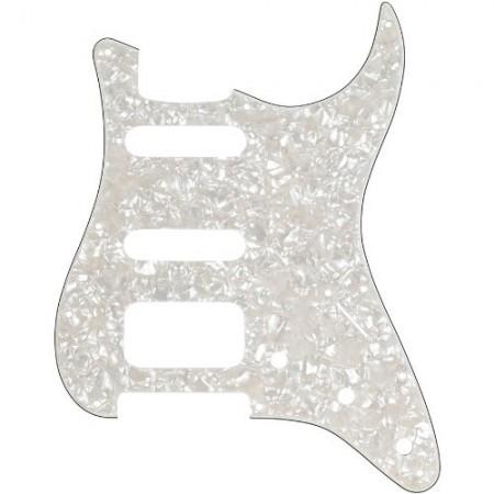 Fender - Fender Pickguard Strat 11 Hole H/S/S 4-Ply WHTP Elektro Gitar Pickguard