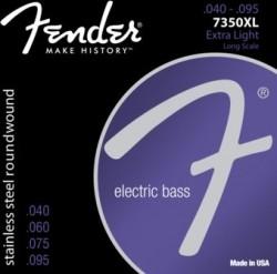 Fender - Fender S.Steel 7350XL 045-100 (4Telli Bas Gitar Teli)