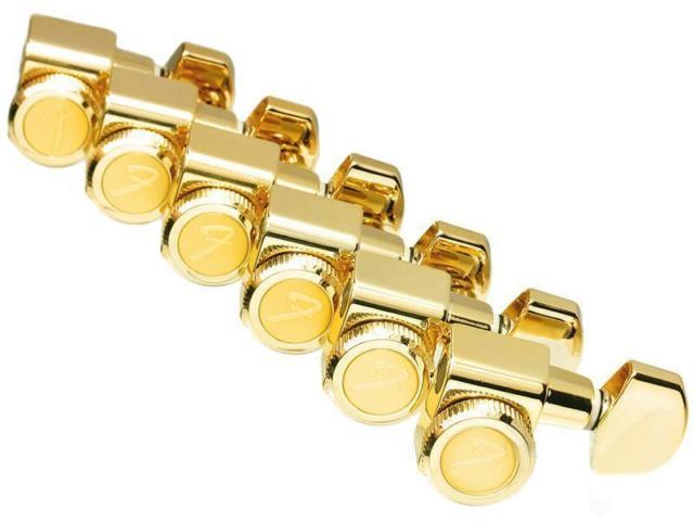 Fender Stratocaster-Telecaster Kilitli Gold Burgu