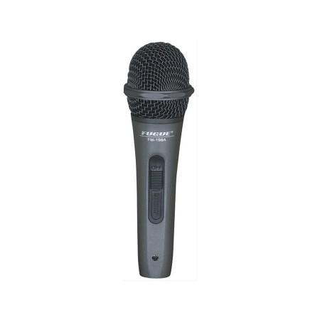 Fugue - Fugue FM-198A Mikrofon Kablolu Siyah Başlıklı Dinamik Tek Yönlü