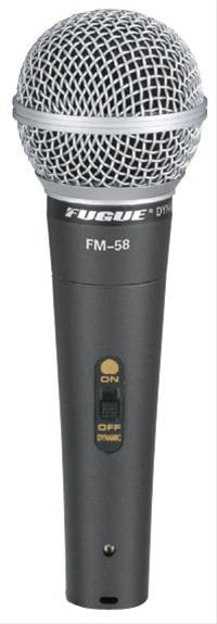 Fugue FM-58 Mikrofon Kablolu Dinamik Tek Yönlü 600 OHM