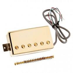 "Gibson - Gibson IM98T-GH 498T ""Hot Alnico"" Humbucker Köprü Manyetiği (Gold)"
