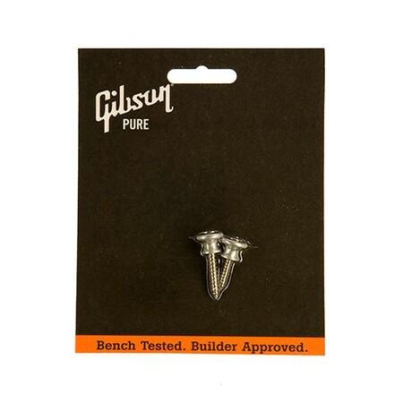 Gibson - Gibson PREP-020 Strap Buttons, Aluminum 2'li Set