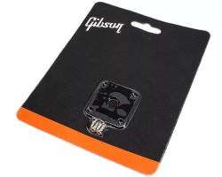 Gibson PRJP-010 Jack Plate (Siyah Plastik) - Thumbnail