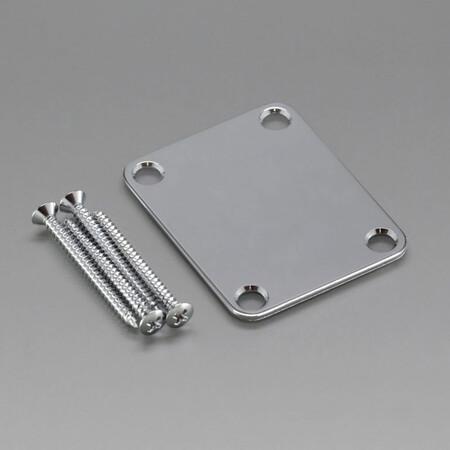 Gotoh - Gotoh NBS3C Chrome Neck Plate-Sap Montaj Plakası