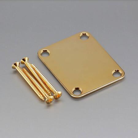 Gotoh - Gotoh NBS3GG Gold Neck Plate-Sap Montaj Plakası