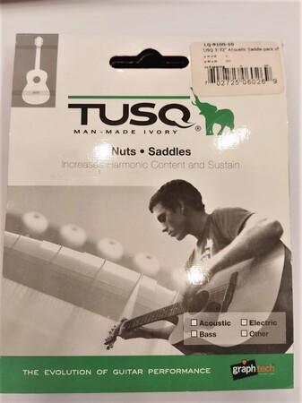 GraphTech PQ-9100-00 Akustik Gitar TUSQ Alt Eşik - Thumbnail