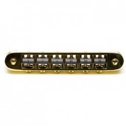 GraphTech PS-8843-G0 Resomax Gold Tune-Matic Bridge Köprü Sistemi - Thumbnail