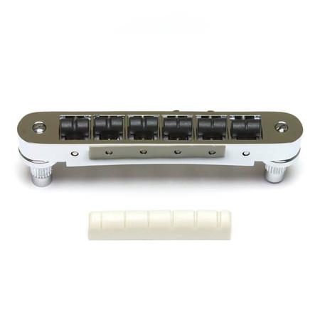 GraphTech - GraphTech PX-8843-C0 Tune-O-Matic Gitarlar İçin SuperCharger Set (Krom)