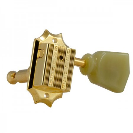 Grover - Grover 135G Vintage Gold 14.1 Gear Ratio Elektro Gitar Burgu Takımı