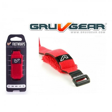 Gruv Gear - Gruv Gear FW-1PK-RED-SM Kırmızı Small FretWrap
