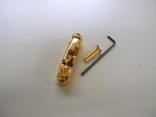 İbanez - Ibanez 2BB1MR4G Mono-rail IV Gold Bas Gitar Saddle