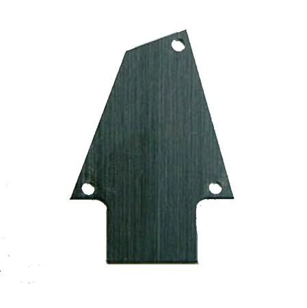 İbanez - Ibanez 4PT1RG1BA Aluminium Truss Rod Cover (RG, Jem)
