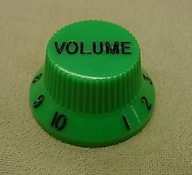 İbanez - Ibanez Hat Type Green Wolüme Knob Tek