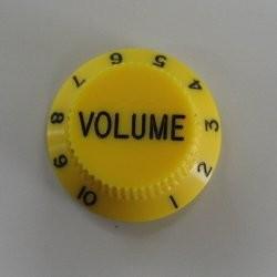 İbanez - Ibanez Hat Type Yellow Wolüme Knob Tek