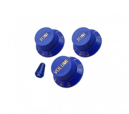 İbanez - İbanez Original Jem 2 Tone-1 Wolüme Blue Potans Düğme Seti