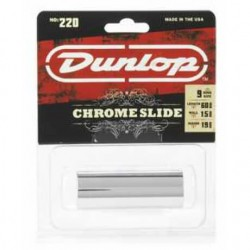 Jim Dunlop 220 (10 Ring) Chrome Medium Slide - Thumbnail