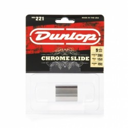 Jim Dunlop 221 Medium Knuckle Krom Slide