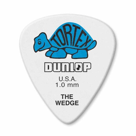 Jim Dunlop - Jim Dunlop 424P-1 Tortex Wedge 1.0mm Pena