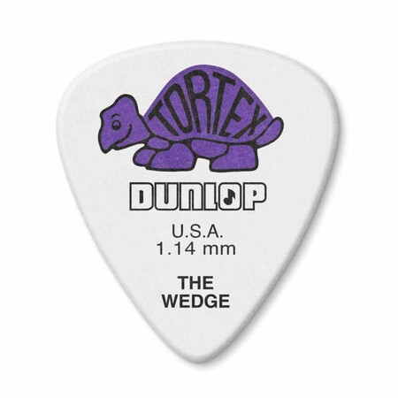 Jim Dunlop - Jim Dunlop 424P-1 Tortex Wedge 1.14mm Pena