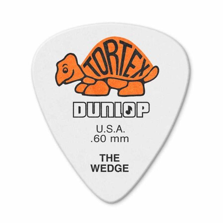 Jim Dunlop - Jim Dunlop 424P-1 Tortex Wedge .60mm Pena