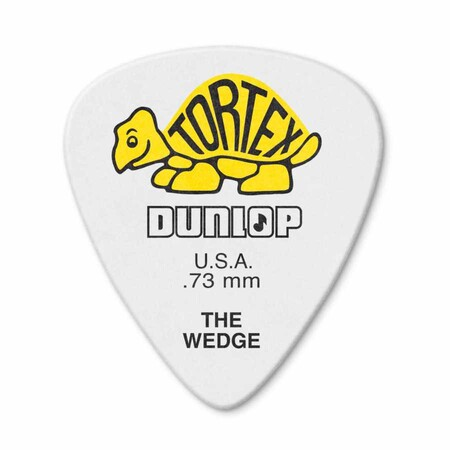 Jim Dunlop - Jim Dunlop 424P-1 Tortex Wedge .73mm Pena