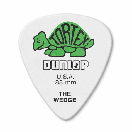 Jim Dunlop - Jim Dunlop 424P-1 Tortex Wedge .88mm Pena