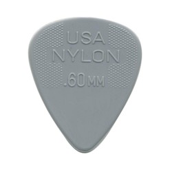 Jim Dunlop - Jim Dunlop 44R.60-60mm Nylon Standard Light Gray Gitar Penası