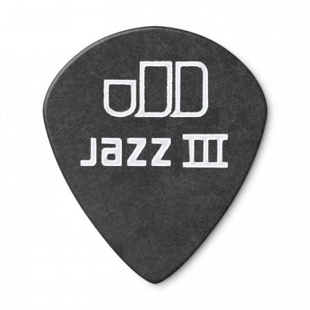 Jim Dunlop 482P0.73 Tortex Black Jazz III Pena - Thumbnail