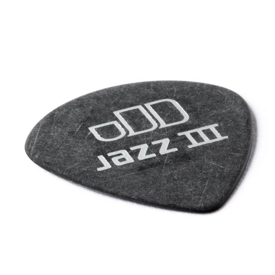 Jim Dunlop 482P0.73 Tortex Black Jazz III Pena