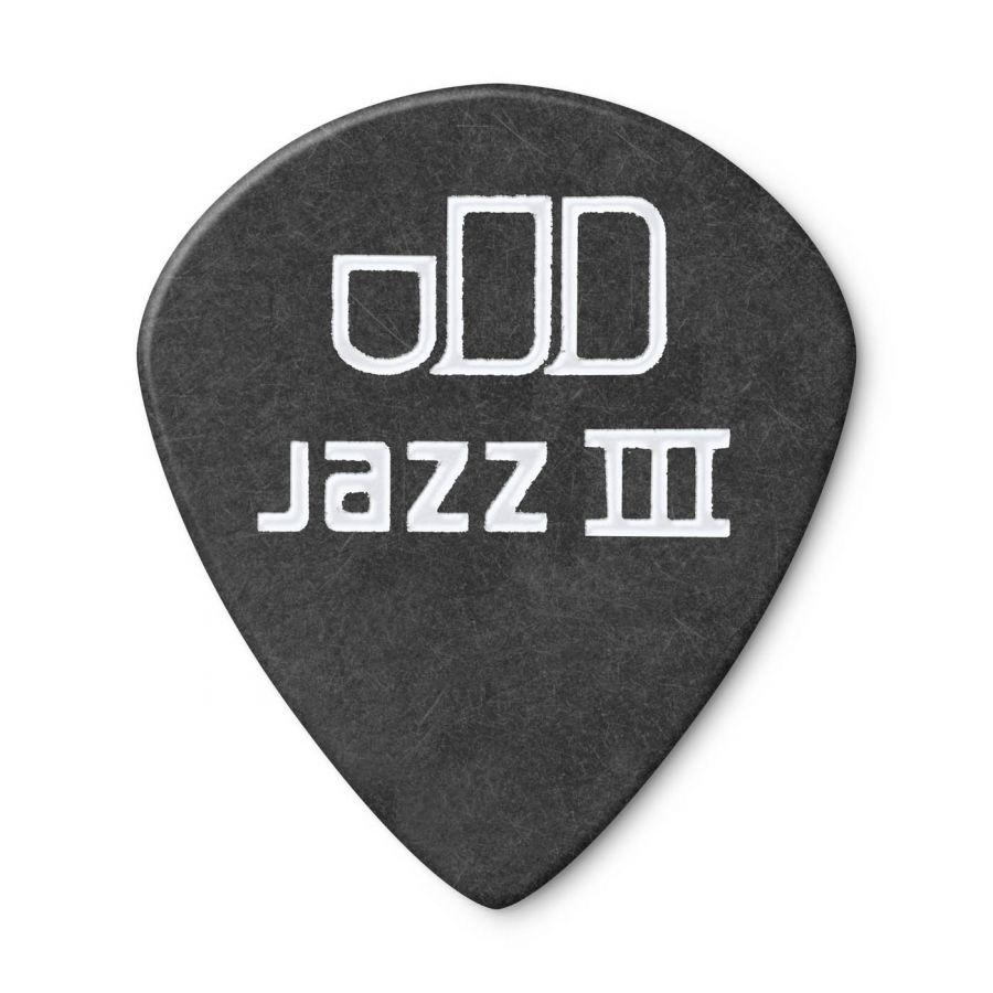 Jim Dunlop 482P0.88 Tortex Black Jazz III Pena