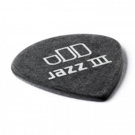 Jim Dunlop 482P1.00 Tortex Black Jazz III Pena - Thumbnail
