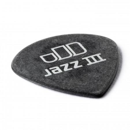 Jim Dunlop 482P1.14 Tortex Black Jazz III Pena - Thumbnail