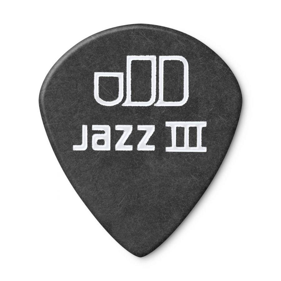Jim Dunlop 482P1.14 Tortex Black Jazz III Pena
