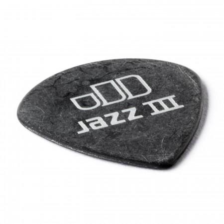 Jim Dunlop 482P1.35 Tortex Black Jazz III Pena - Thumbnail