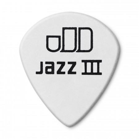 Jim Dunlop 482P1.35 Tortex White Jazz III Pena