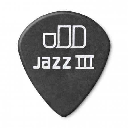 Jim Dunlop 482P1.50 Tortex Black Jazz III Pena - Thumbnail