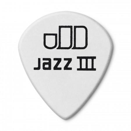 Jim Dunlop 482P1.50 Tortex White Jazz III Pena - Thumbnail