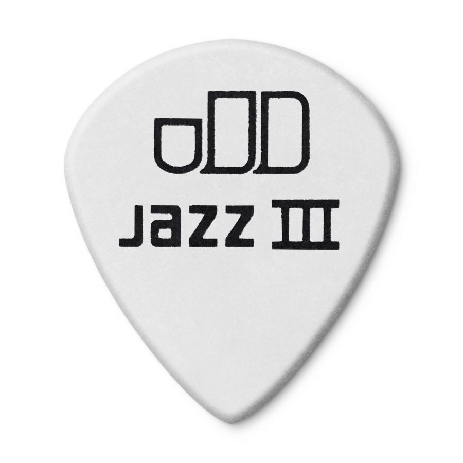 Jim Dunlop 482P1.50 Tortex White Jazz III Pena