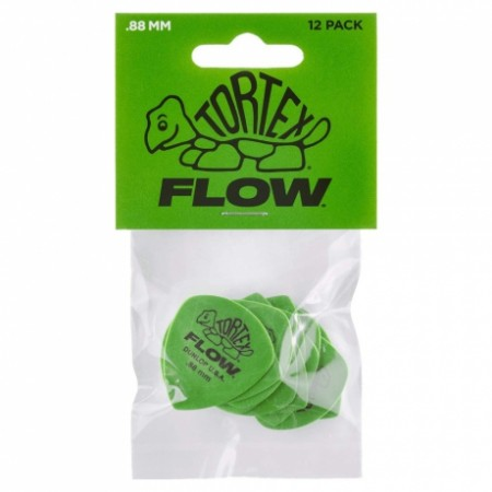 Jim Dunlop - Jim Dunlop 558P.88 Tortex 88mm Flow 12li Pena