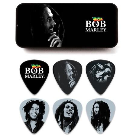 Jim Dunlop - Jim Dunlop Bob Marley 6'lı Heavy Pena Seti
