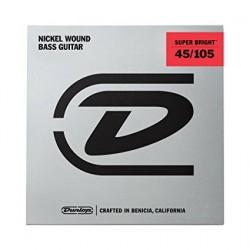 Jim Dunlop - Jim Dunlop DBSBS45105 Super Bright 4 Telli Bas Gitar Teli (045-105)