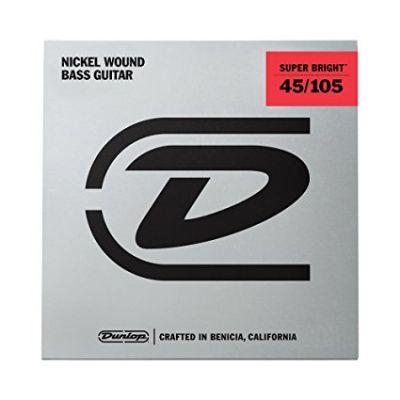 Jim Dunlop DBSBS45105 Super Bright 4 Telli Bas Gitar Teli (045-105)