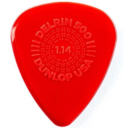 Jim Dunlop - Jim Dunlop Delrin 500 Prime 1.14mm Grip Pena Tek