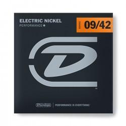 Jim Dunlop DEN0942 Nickel Plated Steel Light Takım Tel (09 - 42)