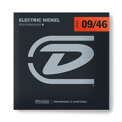 Jim Dunlop DEN0946 Nickel Plated Steel Hybrid Light Takım Tel (09 - 46)